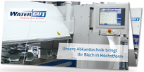 Flyer Abkanttechnik von Watercut